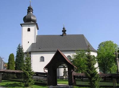 kostel v Lidecku